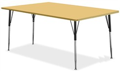 "72""W x 36""D Rectangular Table"