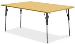 "72""W x 36""D Rectangular Table"