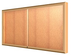"72""W x 36""H Sliding Door Wall Display"
