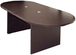 8' Mocha Laminate Conference Table