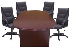 8', 10' & 12' Genuine Mahogany Veneer Conference Tables from $899!