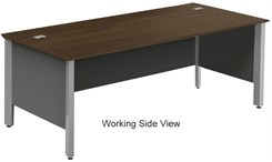 "Concepts 84"" x 36"" Custom Executive Desk"