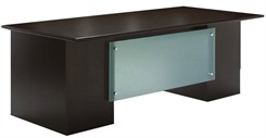 "Prestige Custom 84"" x 42"" Executive Desk"