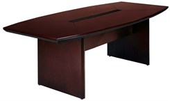 8' Boat-Shaped Conference Table
