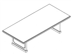8′ Conference Table