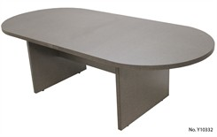 8� Pewter Matrix Laminate Conference Table