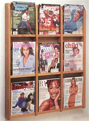 9 Magazine Pocket Rack