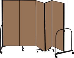 "6' high x 9'5"" long Portable Partition"