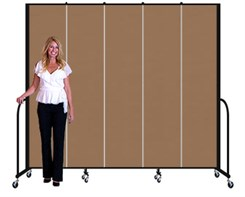"8' high x 9'5"" long Portable Partition"