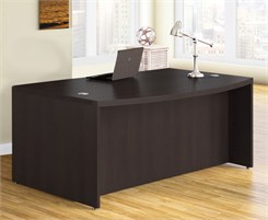 Aberdeen Series - 66&quot; Bow Front Desk Shell