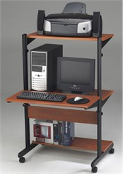 Small Office Adjustable Computer Table
