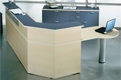 Administrator's Custom Reception Desk