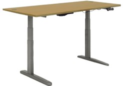 "60"" x 28"" Rect. Electric Lift Height Adjustable Desk"