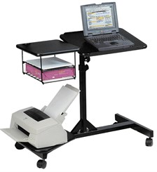 Adjustable Mobile Laptop Workstation