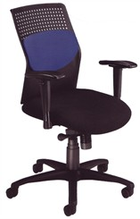 Air-Flo Office Chair with Black Accents