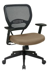 Air Grid Task Chair w/ Colored Fabric Seat!