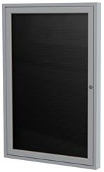 "Aluminum Frame Enclosed Letter Board - 24"" X 36"" 1 Door"