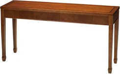 Allure Cherry Veneer Reception Tables - Sofa Table