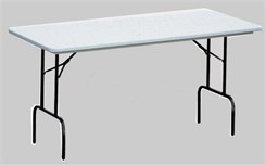 Anti-Microbial Resin Folding Tables