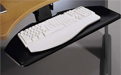 Articulating Keyboard Shelf
