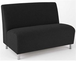 Armless Loveseat in Upgrade Fabric or Healthcare Vinyl