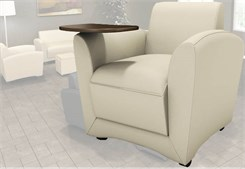Aspire Leather Reception Seating