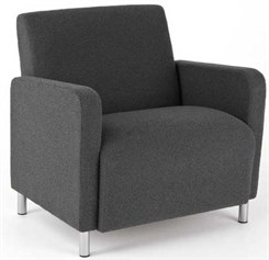 Bariatric Guest Chair in Standard Fabric or Vinyl