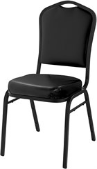 Banquet Stack Chair in Vinyl