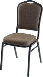 Silhouette Banquet Stack Chair in Fabric or Vinyl