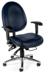 Big & Tall 24-Hour Use Ergonomic Chair in Vinyl