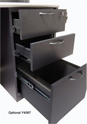Box/Box/File Drawer Pedestal