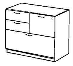 Box/Box/File/Lateral Drawer Pedestal