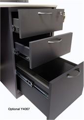 Box/Box/File Drawer Pedestal