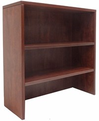 Cherry Lateral File/Cabinet Bookcase Hutch