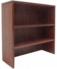 Cherry Lateral File/Cabinet Bookcase Hutch