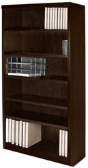 Espresso 68�H Bookcase.