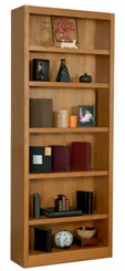 "84""H x 30""W Oak Bookcase"