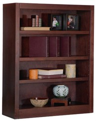 "48""H x 30""W Cherry Bookcase"