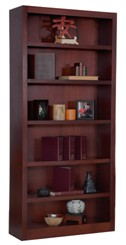 "84""H x 30""W Cherry Bookcase"