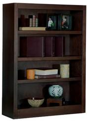 """48""""H x 30""""W Espresso Bookcase"""