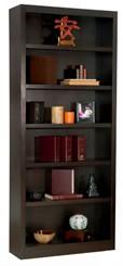 """84""""H x 30""""W Espresso Bookcase"""