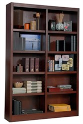 "72""H x 48""W Cherry Bookcase"