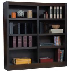 """48""""H x 48""""W Espresso Bookcase"""