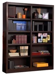"""72""""H x 48""""W Espresso Bookcase"""