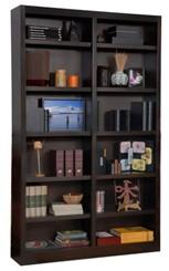 """84""""H x 48""""W Espresso Bookcase"""