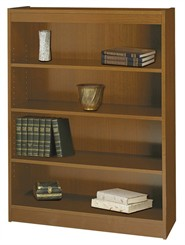 "36""W x 48""H Wood Bookcase"