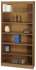 "36""W x 72""H Wood Bookcase"