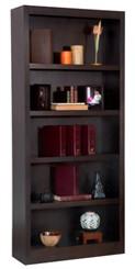 """72""""H x 30""""W Espresso Bookcase"""