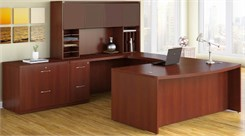 Bow Front Desk Suite