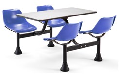 "Breakroom Table & Chair Set - 24"" x 48"" Table Set"
